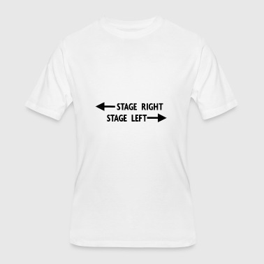 theatre stage - Men's 50/50 T-Shirt