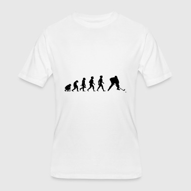 Evolution Hockey Player Puck Stick Winter Sports - Men's 50/50 T-Shirt