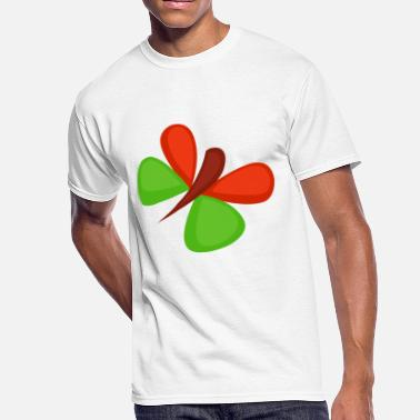 Positions Cartoon butterfly-jungle-wildlife-cartoon-positive - Men's 50/50 T-Shirt