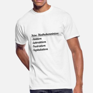 Limited Addition Math skills addition subtraction frustration - Men's 50/50 T-Shirt