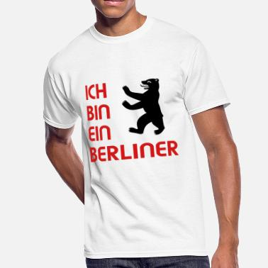 Berlin Bear Ich bin ein Berliner Design - Men's 50/50 T-Shirt