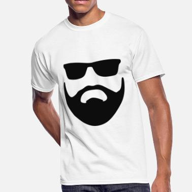 Beards Males Beard Style Face Male - Men's 50/50 T-Shirt