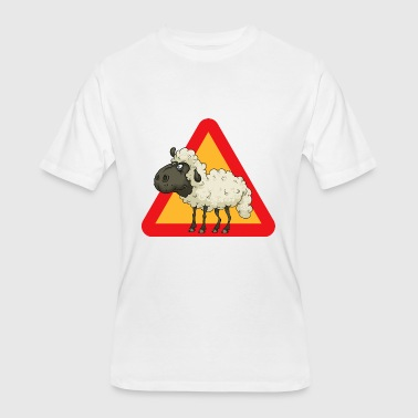 Sheep Cartoon Sheep Comic Sheep - Men's 50/50 T-Shirt