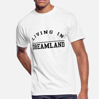 Dreamland LIVING IN DREAMLAND - Men's 50/50 T-Shirt