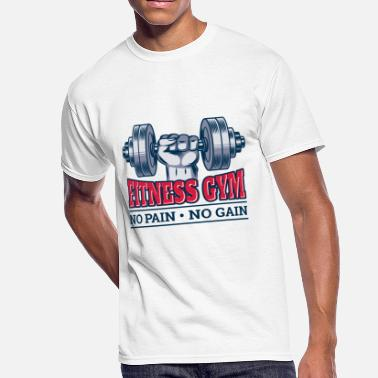 Motivation No Pain No Gain No Pain No Gain - Men's 50/50 T-Shirt