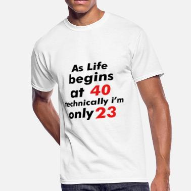 279916b4a 23 Birthday 23 birthday design - Men's 50/50 T-