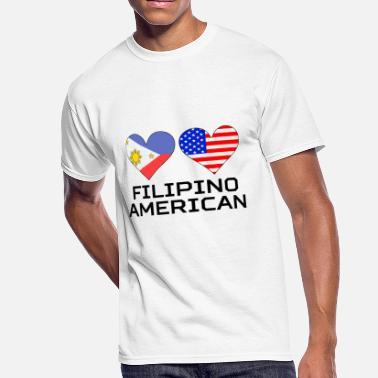 d120e98303d Filipino Heart Filipino American Hearts - Men  39 s 50 50 ...