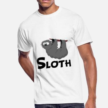 Sloth Cartoon Cartoon Sloth - Men's 50/50 T-Shirt