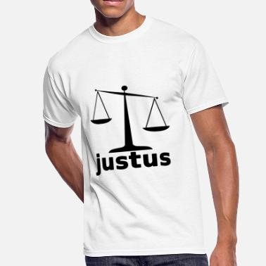 Justus Scales of Justus - Men's 50/50 T-Shirt