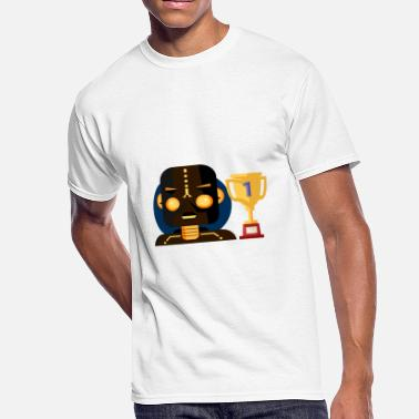 Andro ANDRO Champ ROBOT and Firat place - Men's 50/50 T-Shirt