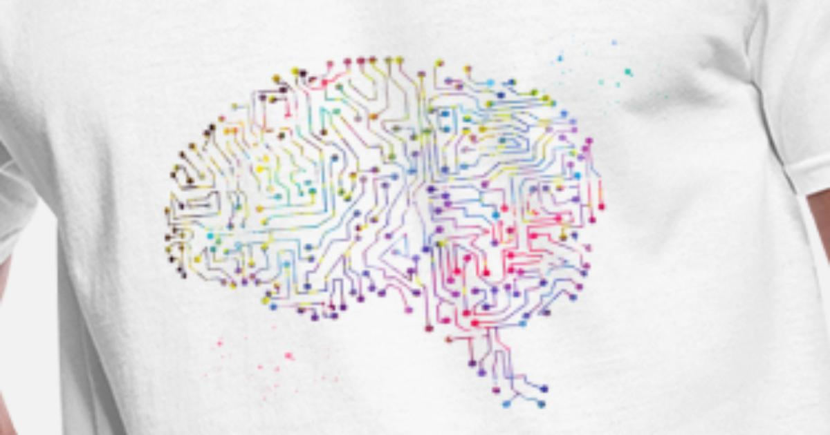 circuit board brain men u0026 39 s 50  50 t