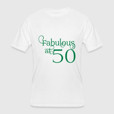 Fabulous at 50 - Men's 50/50 T-Shirt