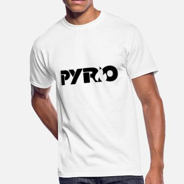 Awful House Pyro (Black) - Men's 50/50 T-Shirt
