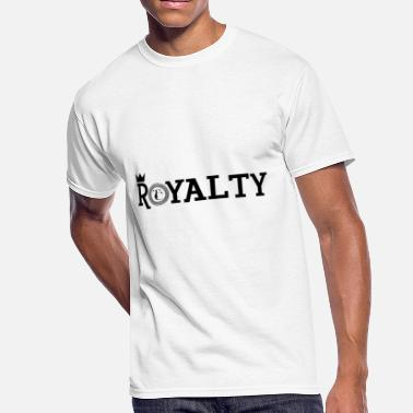 Black Royalty Royalty [BLACK] - Men's 50/50 T-Shirt