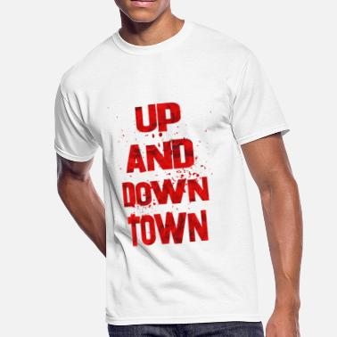 A Town Down up and down town 2 - Men's 50/50 T-Shirt