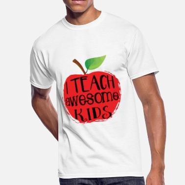 Awesome Kid i teach awesome kids - Men's 50/50 T-Shirt