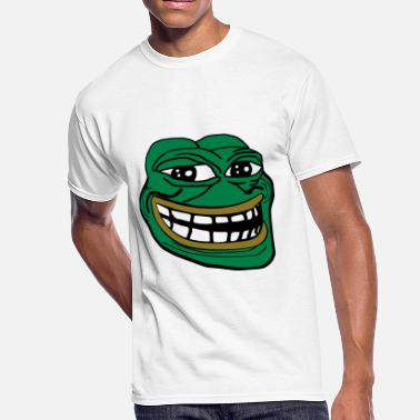 Frog Pepe Pepe the Troll Frog - Men's 50/50 T-Shirt