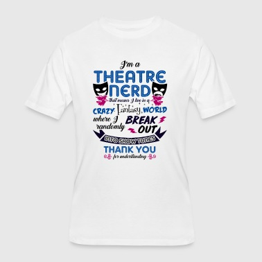 Theatre Nerd Theatre Nerd Funny Definition - Men's 50/50 T-Shirt