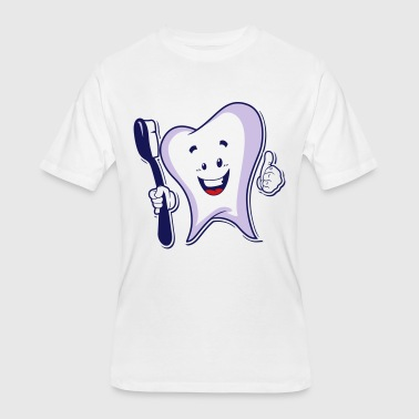 Toothy - Men's 50/50 T-Shirt