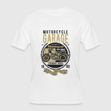 Classic Car Vehicle Motorcycle Garage Classic Vehicles - Men's 50/50 T-Shirt