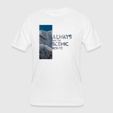 Scenic Scenic Route - Men's 50/50 T-Shirt