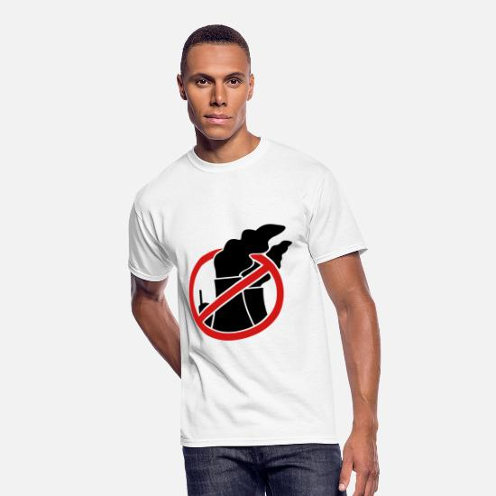 Ecofriendly T-Shirts - Against nuclear power - Men's 50/50 T-Shirt white