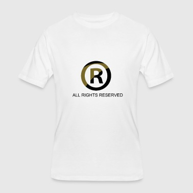 All Right All Rights Reserved - Men's 50/50 T-Shirt