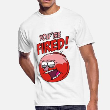 You Are On Fire YOU RE FIRED BENSON - Men's 50/50 T-Shirt