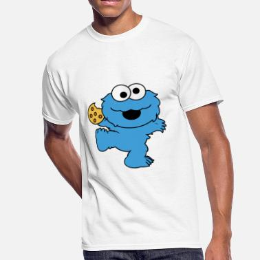 Dance Monster Dancing cookie monster mug - Men's 50/50 T-Shirt