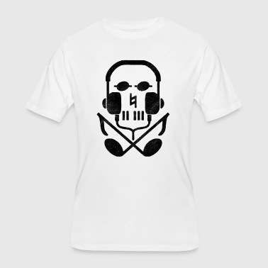 Earphone Jokes skull earphones - Men's 50/50 T-Shirt