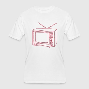 Boobs Film TV Television set - Men's 50/50 T-Shirt