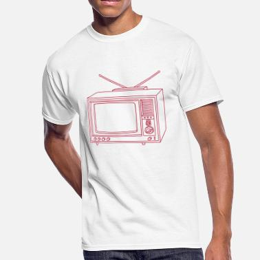 Tube TV Television set - Men's 50/50 T-Shirt