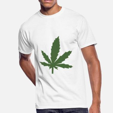 Rausch hanf cannabis kiffen marijuana hemp grass gras28 - Men's 50/50 T-Shirt