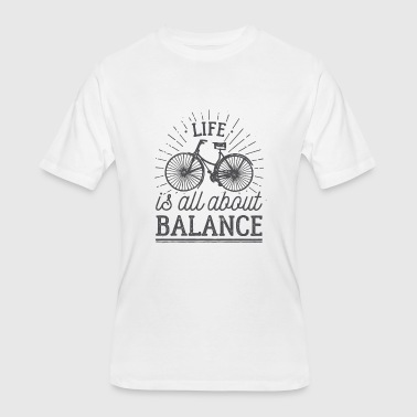 bike balance - Men's 50/50 T-Shirt