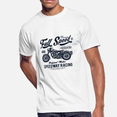 Full Figured Full Speed2 - Men's 50/50 T-Shirt