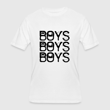 Gay BOYS BOYS BOYS - Men's 50/50 T-Shirt