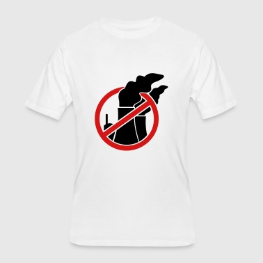 Prohibitory Sign Against nuclear power - Men's 50/50 T-Shirt