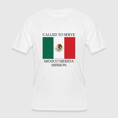 Called To Serve Mexico Merida LDS Mission Called to Serve Flag - Men's 50/50 T-Shirt