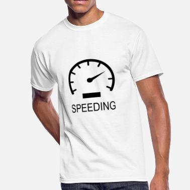 Speed Art SPEEDING - Men's 50/50 T-Shirt