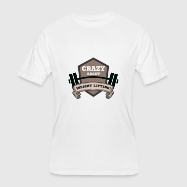 Free Weights weight lifting - Men's 50/50 T-Shirt