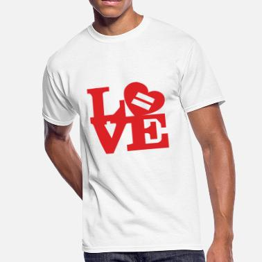 Marriage Equality Equality Love - Men's 50/50 T-Shirt