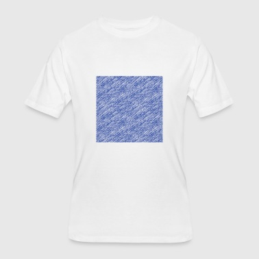 oblong Blue - Men's 50/50 T-Shirt