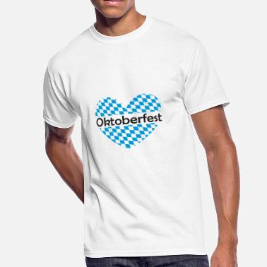 Bavarian Flag Bavarian Flag | Oktoberfest - Men's 50/50 T-Shirt