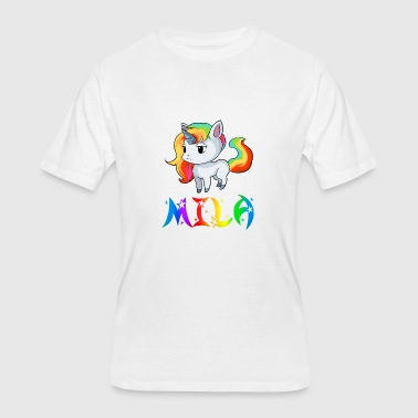 Mila Unicorn - Men's 50/50 T-Shirt