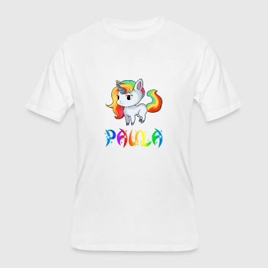Paula Unicorn - Men's 50/50 T-Shirt
