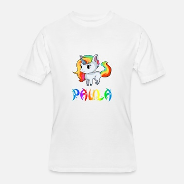 Paula Paula Unicorn - Men's 50/50 T-Shirt