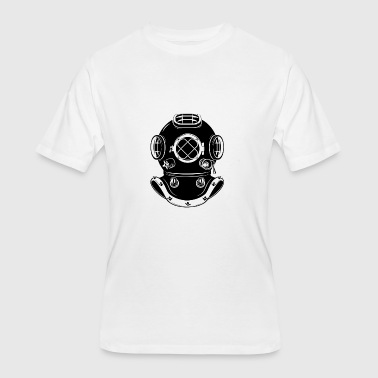 Diving Mask/ Sea - Men's 50/50 T-Shirt