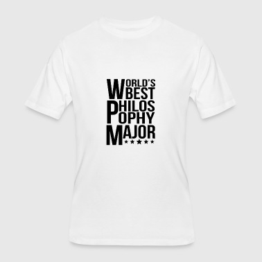 Philosophy Majors World's Best Philosophy Major - Men's 50/50 T-Shirt