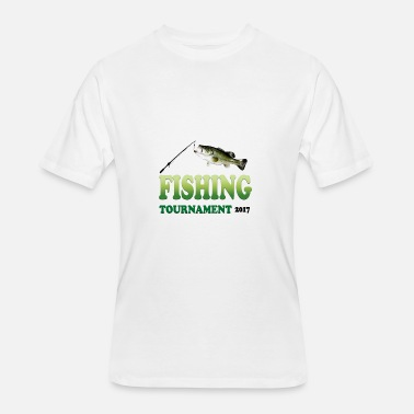 Bass Fishing Tournaments FISHING TOURNAMENT 2017 - Men's 50/50 T-Shirt