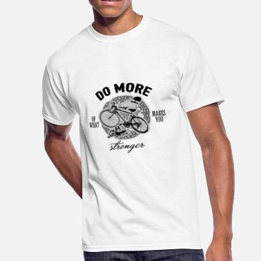 Best Selling Do More Of What Sports Makes Strong Quote T shirt - Men's 50/50 T-Shirt
